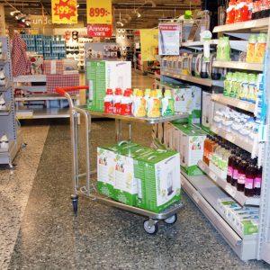 Butiks & Lagervagn
