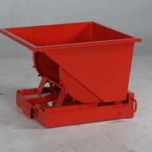 Tippcontainer Röd 150L