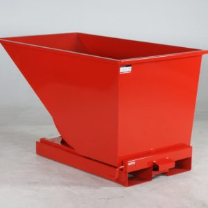 Tippcontainer Röd 600L