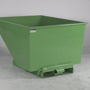 Tippcontainer  Grön 900L