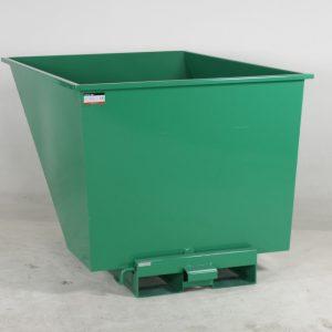 Tippcontainer  1100L Grön