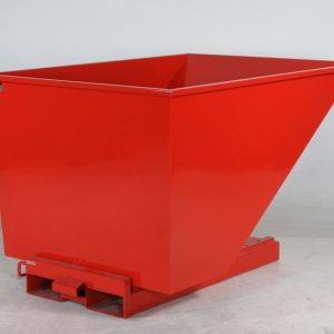 Tippcontainer Röd 1100L