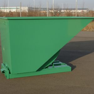 Tippcontainer  Grön 1600L