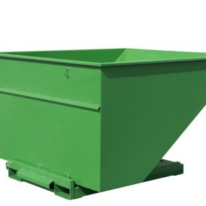 Tippcontainer Grön 2500L