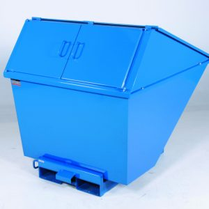 Tippcontainer med lock 1100 L