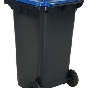 Avfallskärl 240 L, blått lock