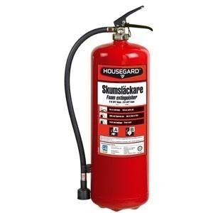 Brandsläckare 9 Liter Skum